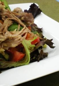 Salade de confit canard