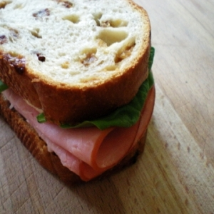 Sandwich jambon-fromage