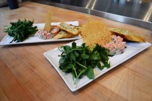 Tartare de saumon chez Ateliers et Saveurs