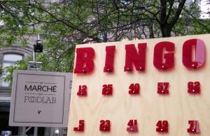 Bingo culinaire du Foodlab