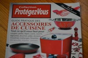 Protégez-vous - Guide d'achat accessoires de cuisine