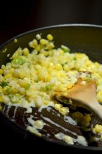 Blé d'inde en crème - Maïs en crème