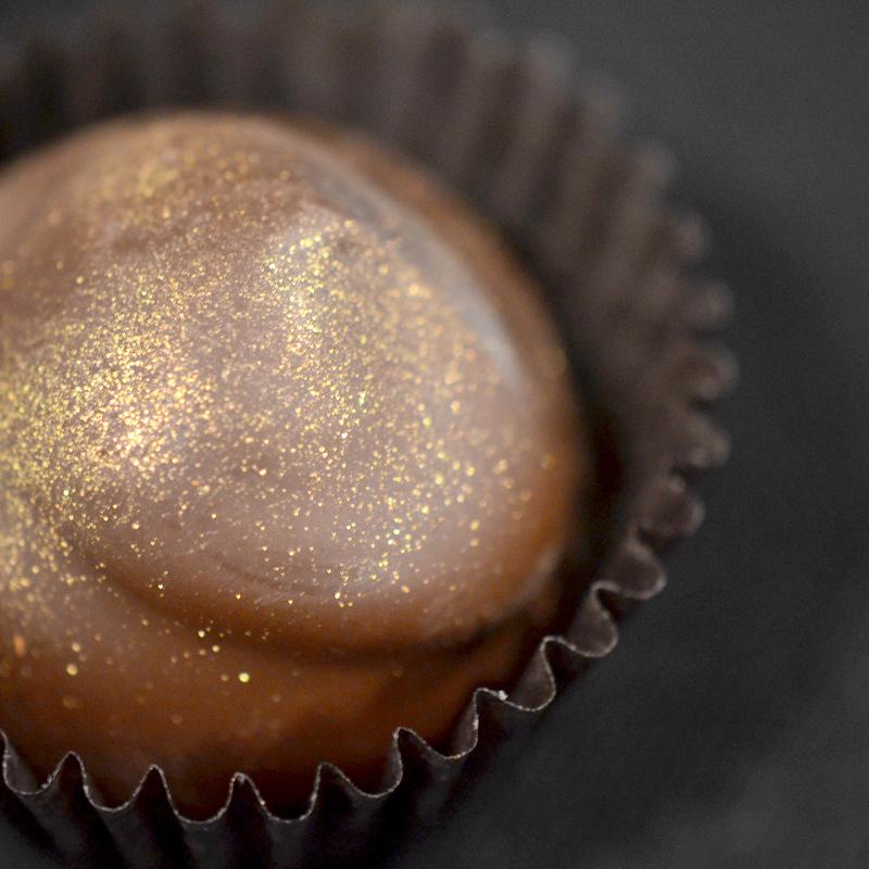 Chocolats dorés