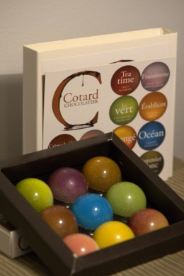 Cotard Chocolatier - Boite de 9
