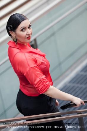 Look flamenco - En mode locale