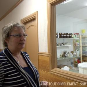 Lise Tanguay, présidente et fondatrice de Aurélie savonnerie artisanale